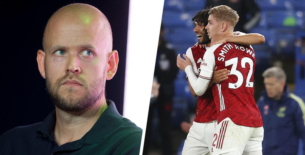 """Daniel Eks bud på Arsenal nobbades: """"De sa att de inte behövde pengarna"""""""