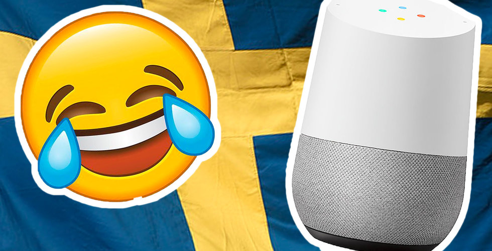 Google ber om svenskarnas bästa skämt – smarta högtalarna ska bli roligare