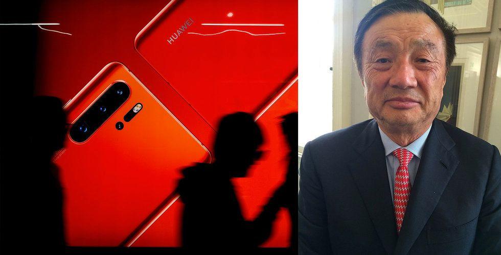 Huawei-grundarens kaxiga utspel: USA underskattar vår styrka