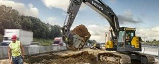 Breakit - Volvo satsar på eldrivna grävmaskiner