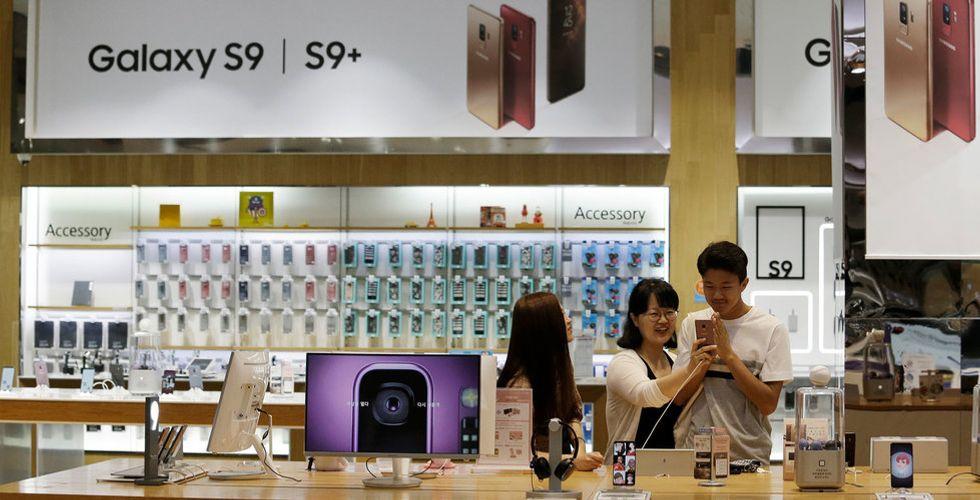 Huawei klättrar förbi Apple på smartphonemarknaden