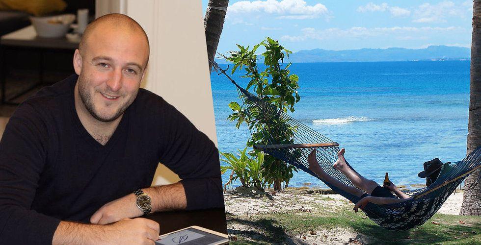 Lukas Duczko lämnade sitt Scrive efter sju år – för att leva hängmatteliv
