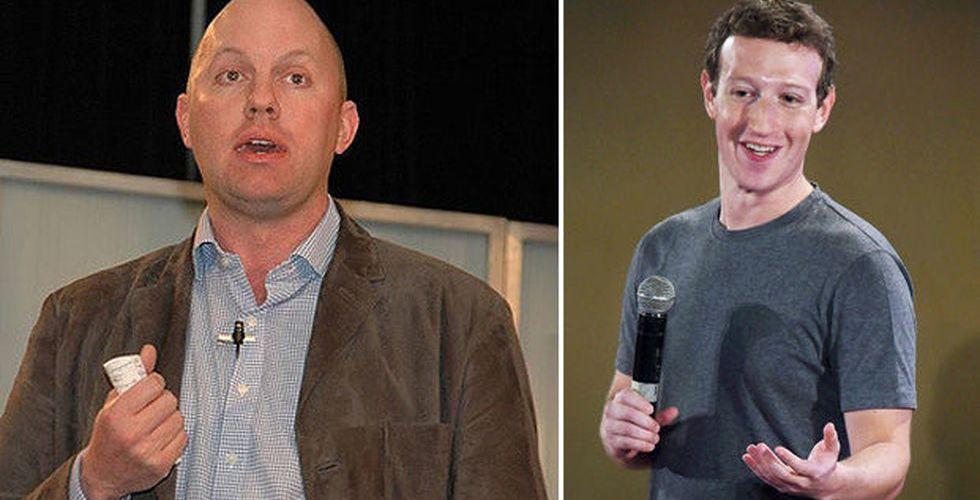 Facebook-grundaren i ordkrig – med en av sina största investerare