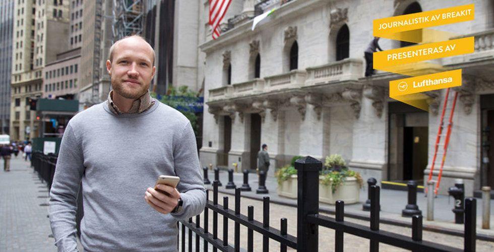 Alexander Wallin vill göra alla till börshajar genom sin sociala börsapp Sprinklebit