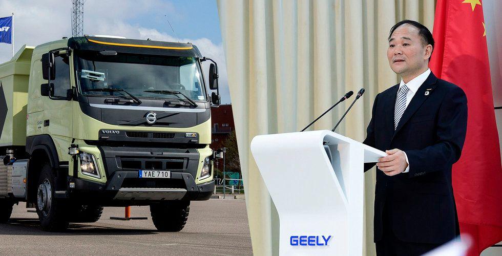 Uppgifter: Geely tog hjälp av Volvo Cars för köpet i AB Volvo