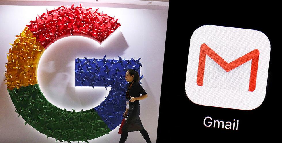 Problem för Google – Gmail funkar inte som det ska