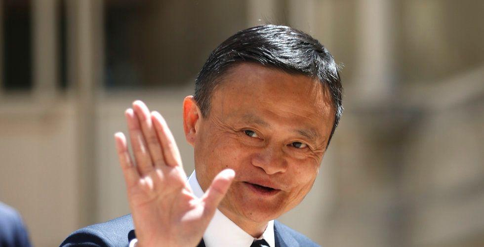 Alibabas medgrundare Jack Ma har sålt aktier för 9,6 miljarder dollar