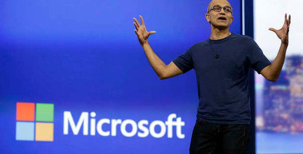 Molnet lyfter Microsoft - aktien upp kraftigt efter stark rapport