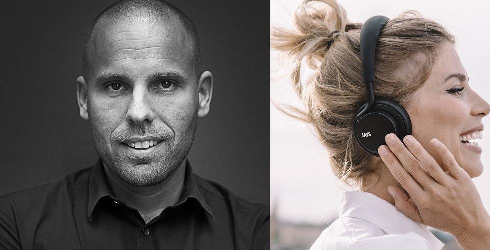 Svenska hörlursbolaget Jays i ryskt samarbete – aktien rusar