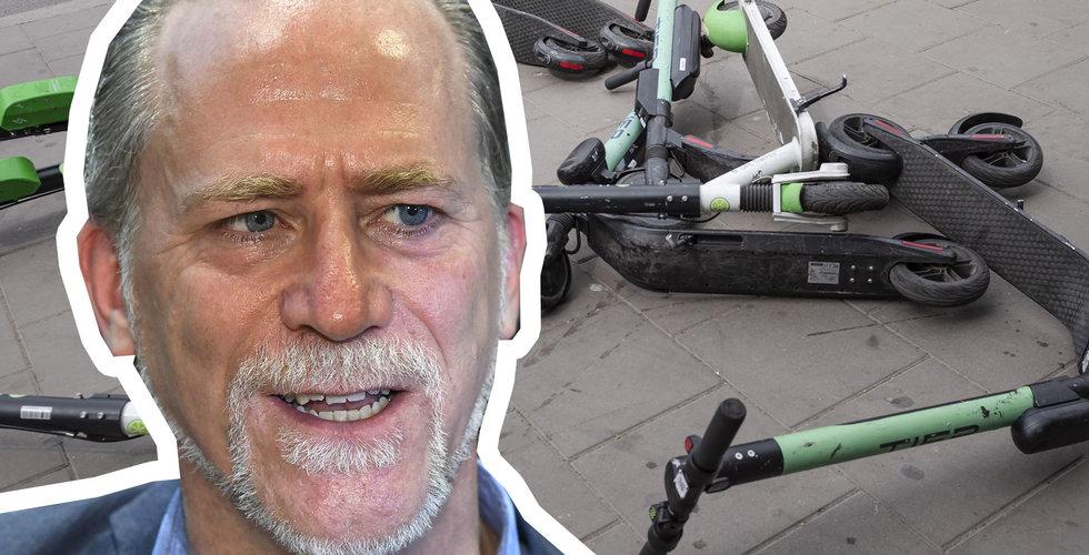 Daniel Helldén kräver lagändring – vill ha mer makt över elsparkcyklarna