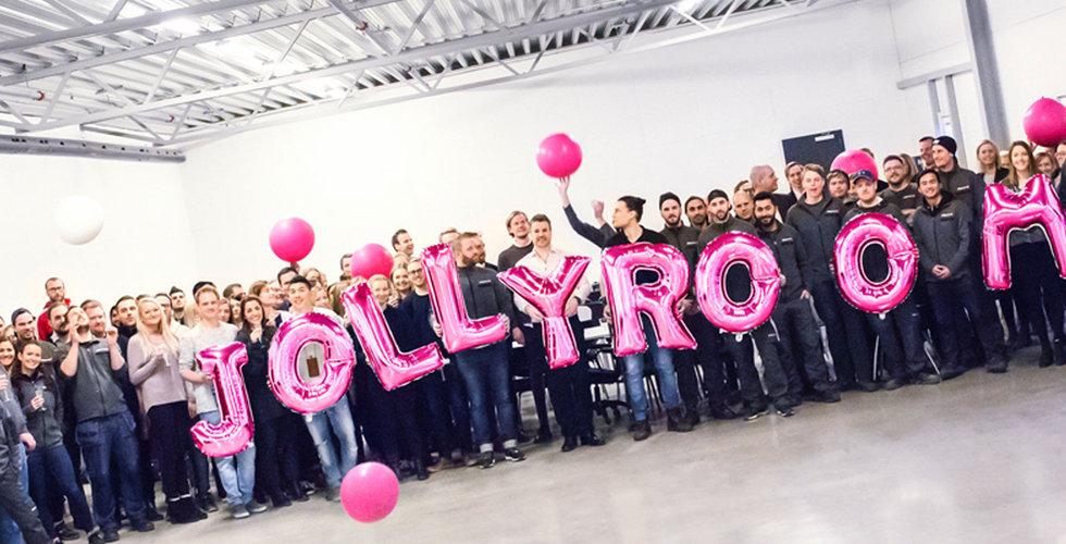 Jollyroom växer så det knakar – anställer 250 personer till lagret