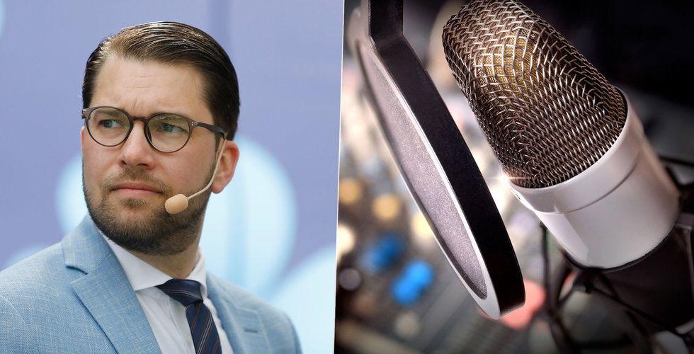 """Sverigedemokrater vill banta public service: """"Sälj SVT2 och P3"""""""