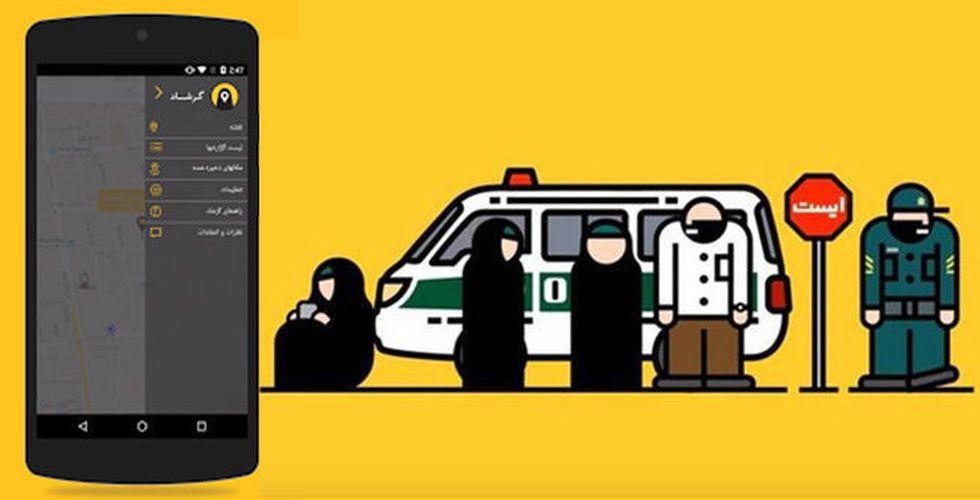 Irans ungdomar har tröttnat – ska undvika moralpoliser med ny app