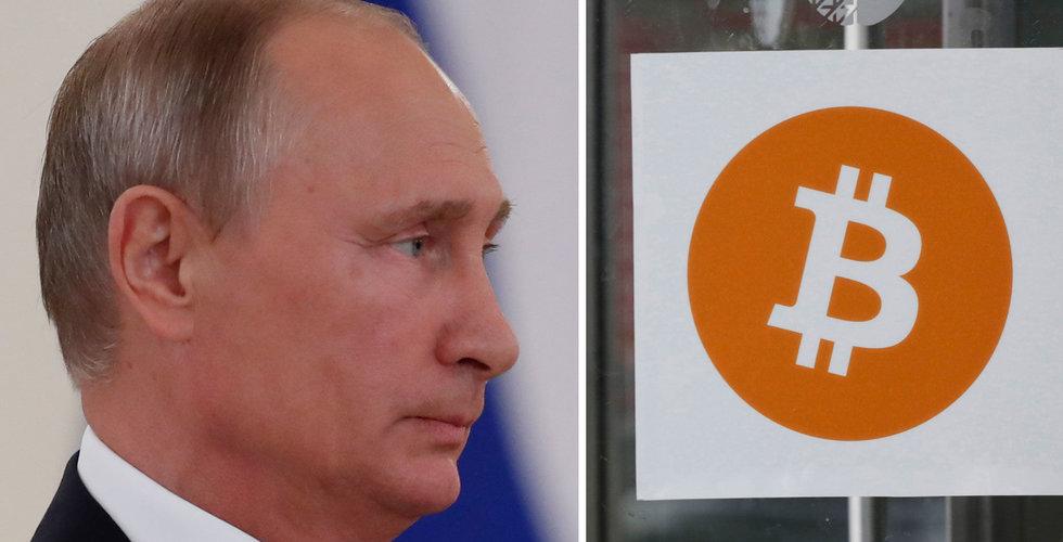 Breakit - Ryssland ska förbjuda sajter som erbjuder kryptovalutor