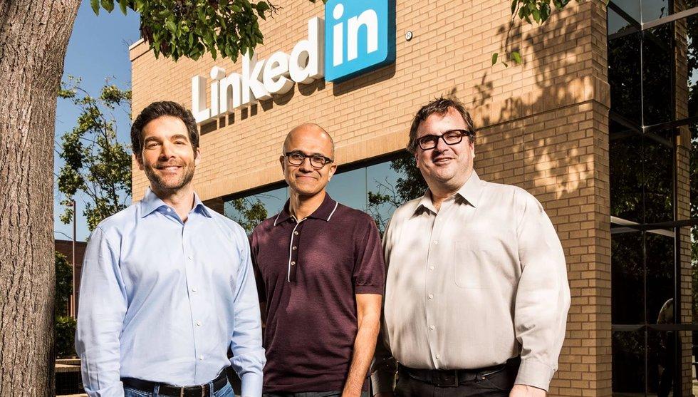 Breakit - Så mycket cashar topparna in när Linkedin byter ägare