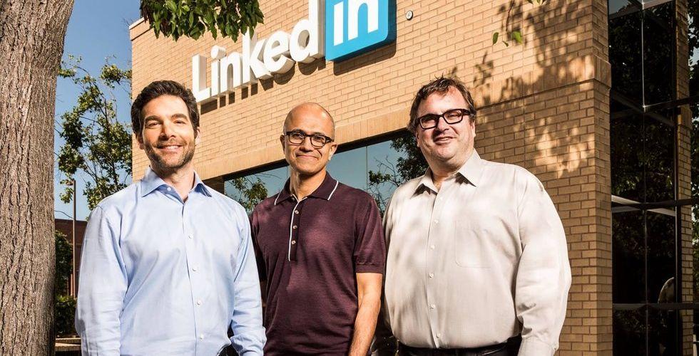 Så mycket cashar topparna in när Linkedin byter ägare