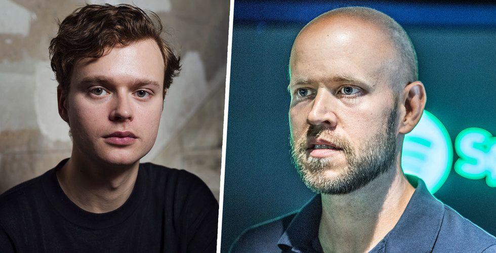 De ska spela Daniel Ek och Martin Lorentzon i Netflix-serien om Spotify