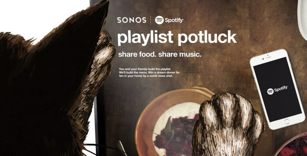 Breakit - Nu vill Spotify och Sonos göra spellistan till din nya festinbjudan