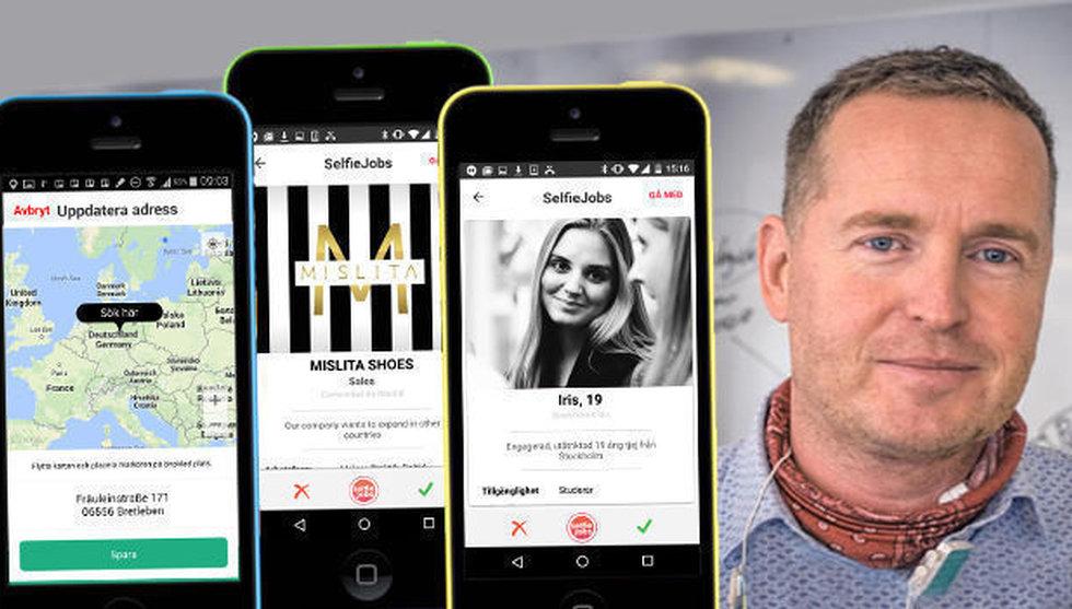 """Breakit - Selfiejobs grundare ser ljuset igen - har haft ett """"mardrömshalvår"""""""