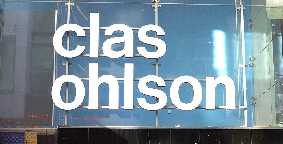 Breakit - Clas Ohlsons försäljning steg 4 procent i december