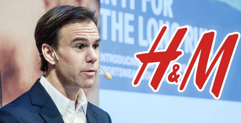 Så går det för H&M – kommer öppna färre nya butiker
