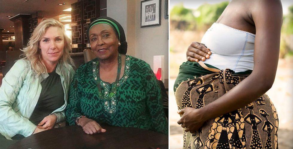 Bonnie Roupés app ska rädda livet på gravida i Somaliland