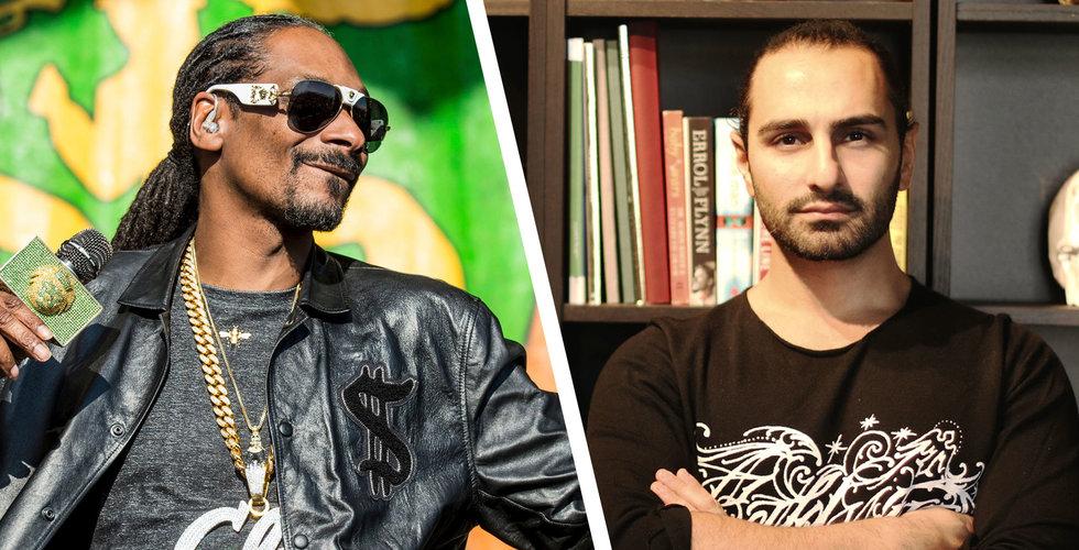 Ash Pournouri och Snoop Dogg investerar i Tiktok-utmanaren Triller