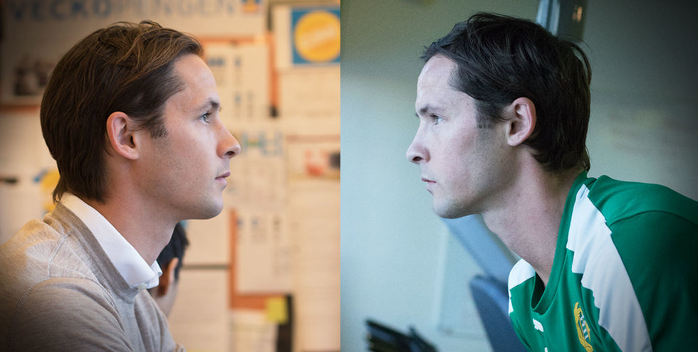 Philip Haglund om dubbellivet – hårdsatsande fotbollsproffs och entreprenör