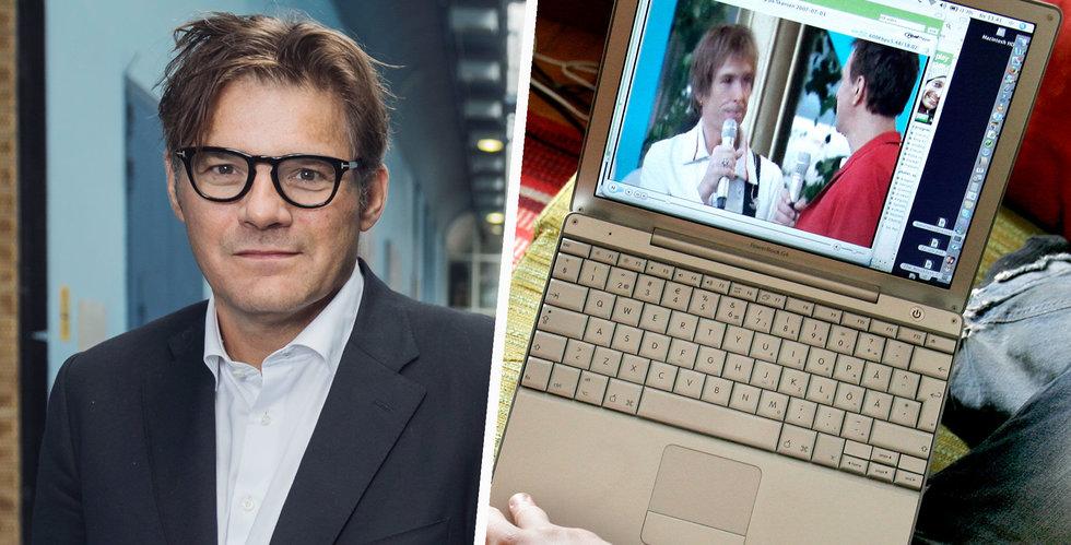 SVT Play på väg att gå om traditionellt tv-tittande