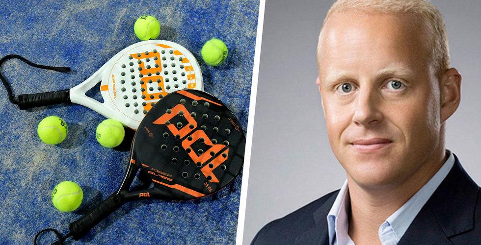 Henrik Persson Ekdahls Playtomic köper italiensk konkurrent – blir störst i världen