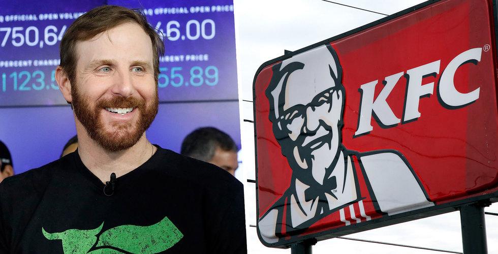 KFC lanserar växtbaserad kyckling ihop med Beyond Meat