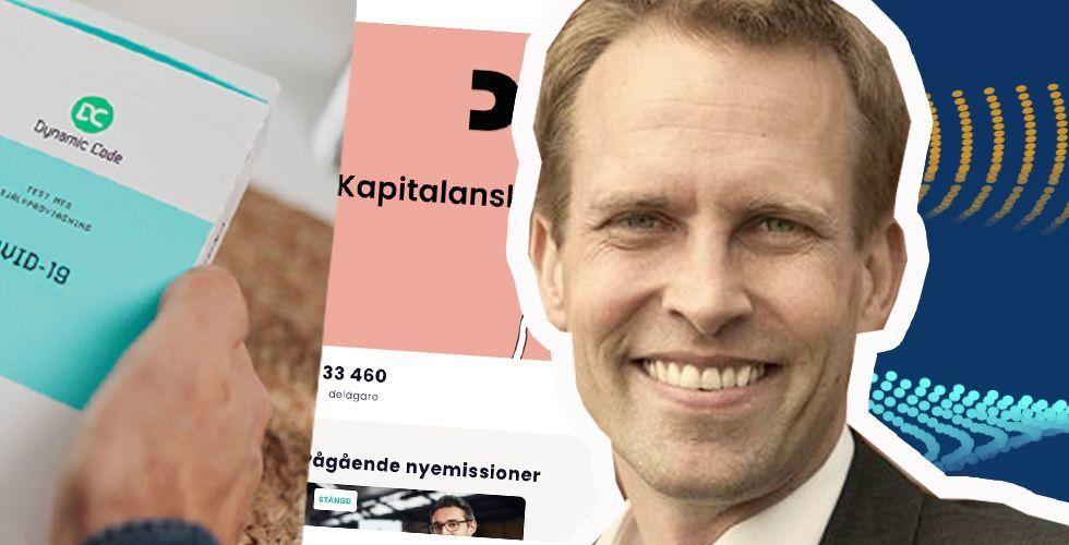 """Aegirbios vd Martin Linde sjukskriven – efter senaste tidens """"extrema tryck"""""""