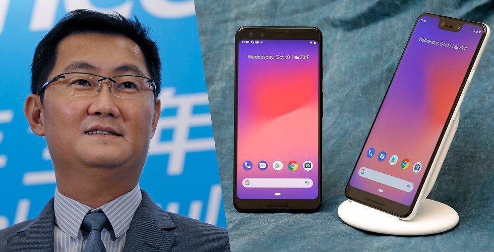 """Tencent planerar en """"spel-telefon"""""""