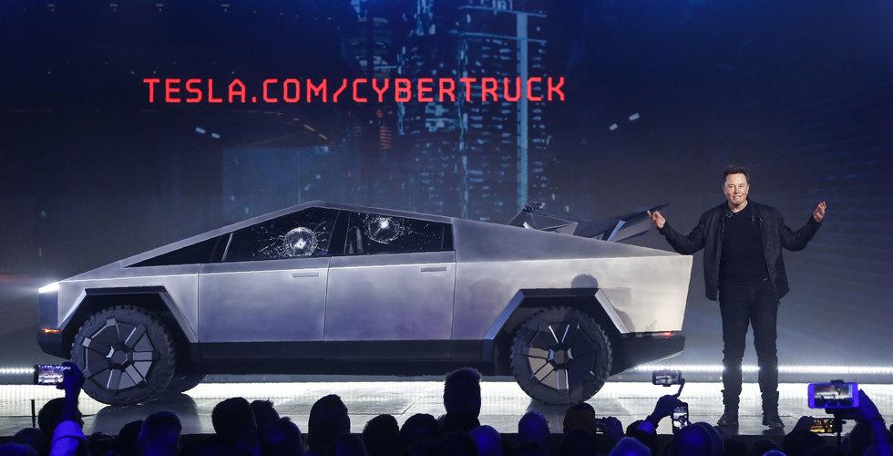 """Teslas skrytpickup försenas – varnat för """"utmaningar"""""""