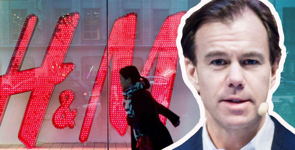 Stockholmsbörsen vände uppåt – med H&M i botten