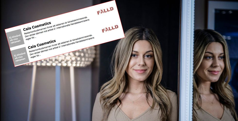 Bianca Ingrossos skönhetsbolag fälls för könsdiskriminering