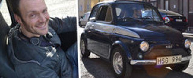 Han förvandlade en 46 år gammal Fiat – till en supermiljöbil