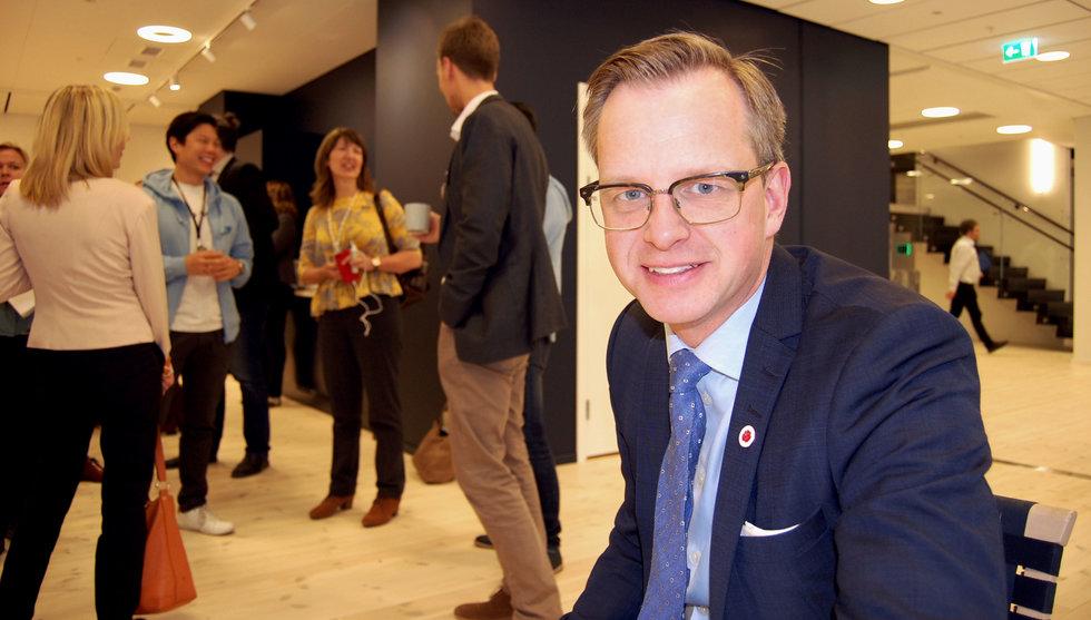 Damberg i ny charmoffensiv mot startups utanför Stockholm