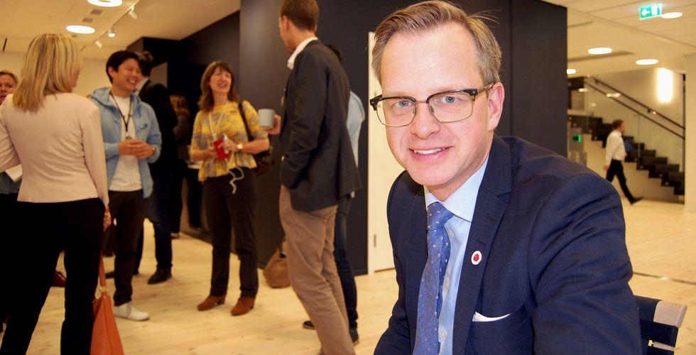 Breakit - Damberg i ny charmoffensiv mot startups utanför Stockholm