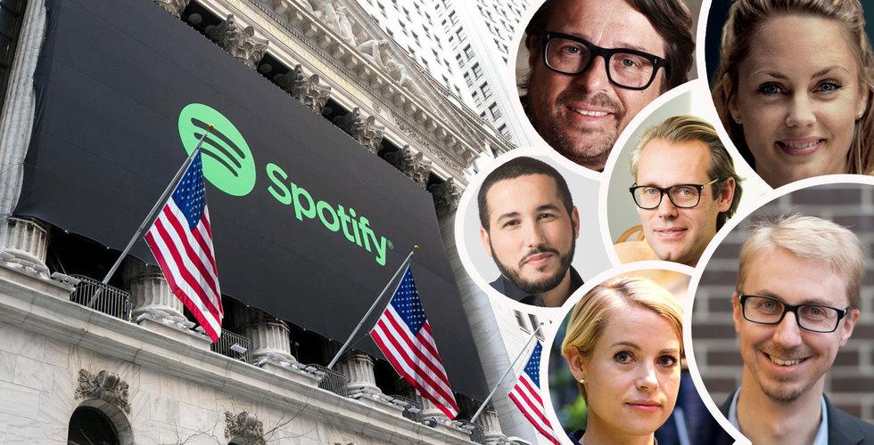 """Techprofilerna haussar Spotify inför noteringen: """"Köp, köp, köp!"""""""