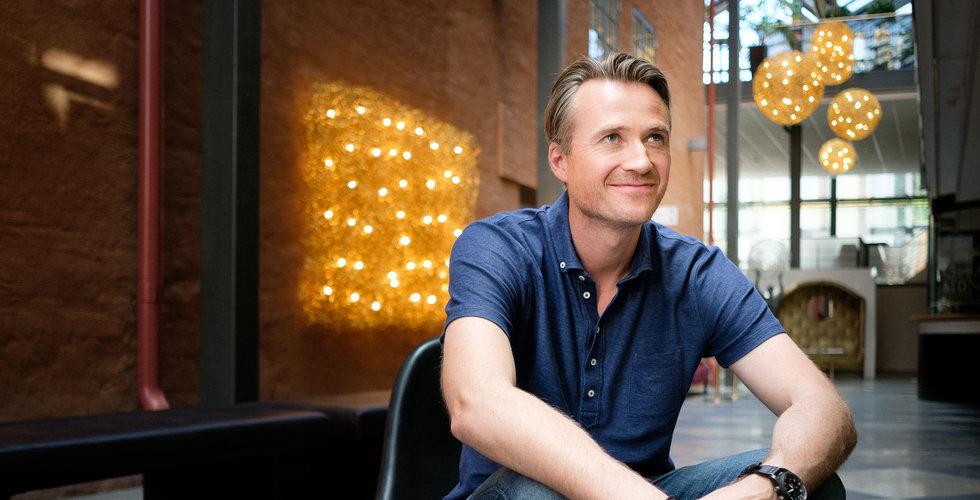 Johan Tjärnberg tar klubban i Trustly