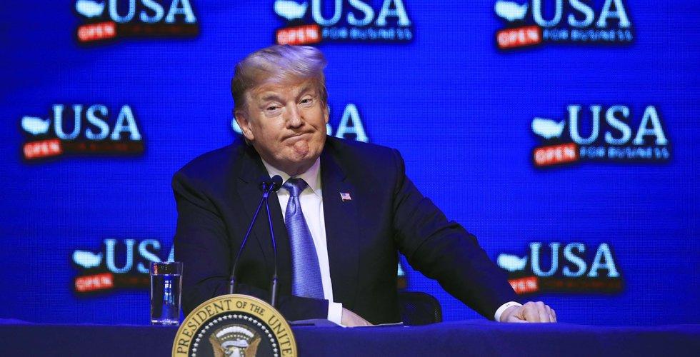 Trump vill begränsa teknikexport till Kina