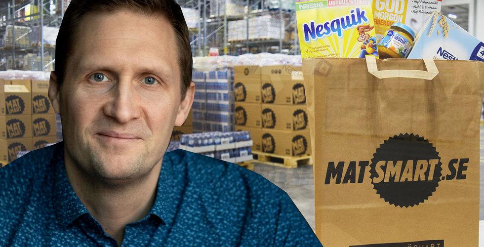 149 robotar ska jobba i Matsmarts nya lager