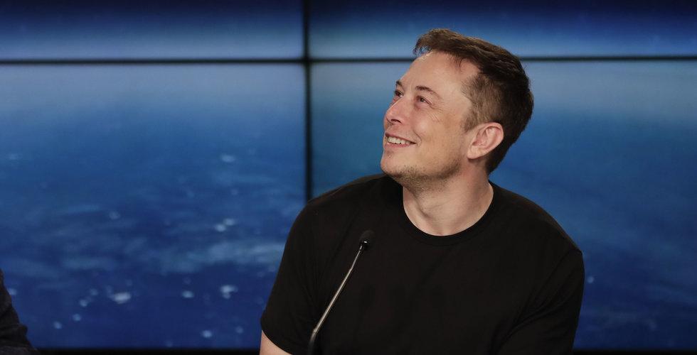 """Musks nya raket stoppas av vädret: """"Bättre vara paranoid"""""""