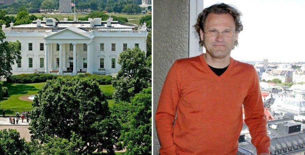 Därför har Pär-Jörgen Pärson blivit stammis i Vita huset