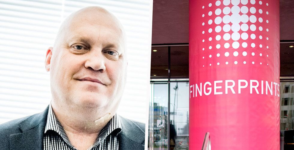 Carlström om Fingerprints framtid: Vore bra med en stark partner