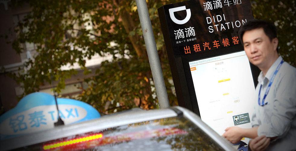 Didi Chuxing lanserar robottaxi-tjänst i Shanghai