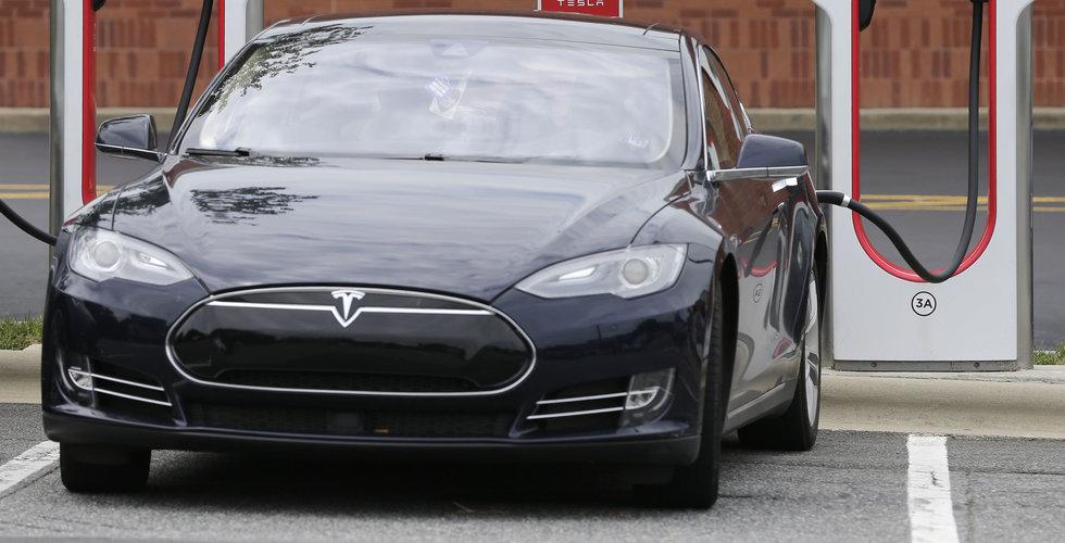 Breakit - Teslas produktion tillfälligt nere i tisdags efter en brand