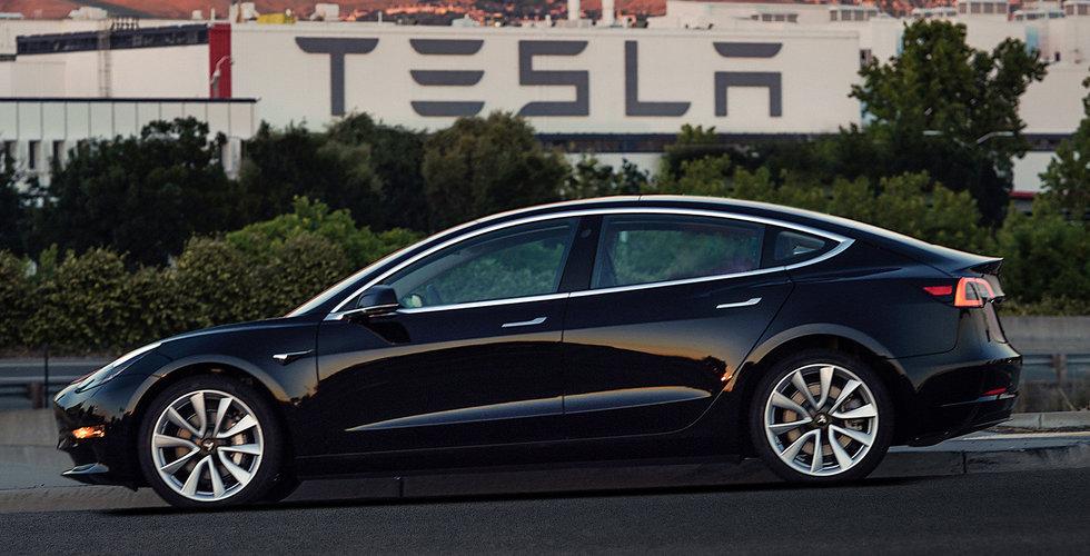Breakit - Tesla har bara lyckats bygga 440 Model 3 i år