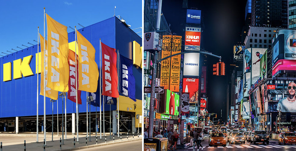 Ikea öppnar sin första citybutik i USA